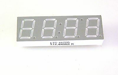 Lite-on Ltc -4625g Led Display 7 Segment 0.4 4 Digit 4 Pieces D5 Om0232