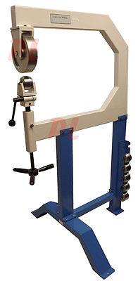 28 Throat English Wheel Sheet Metal Planishing Anvil Hammer 2 3 4 6 8 12 Radius