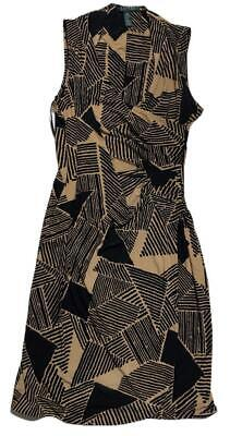 Ralph Lauren Women's M Surplice Bodice Jersey Dress