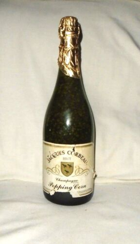 """Rare Vintage Collectible Jacques Corbeau The Champagne Of Popping Corn 12"""""""