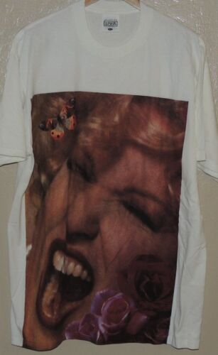 Bette Midler Experience The Divine Vintage White MINTY Concert Tour Shirt XL