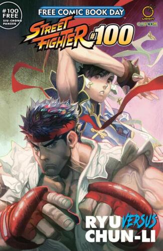 FCBD 2020 Street Fighter #100 - NM or better