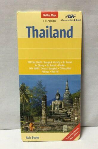 NEW 2006 MAP OF THAILAND Nelles w/ Special Maps City Maps Ko Chan Ko Samui
