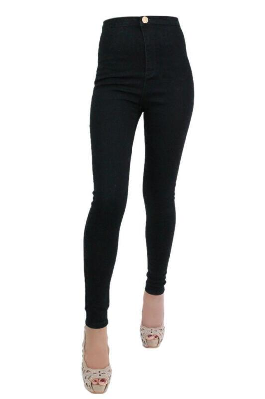 Ripped Black Skinny Jeans Womens