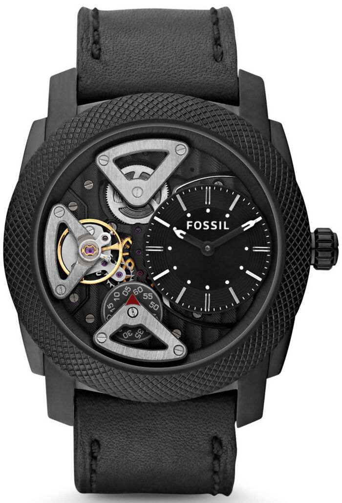 top 10 fossil watches for men fossil machine me1121 men s twist leather watch black