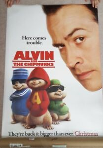 Alvin & the Chipmunk Movie Poster