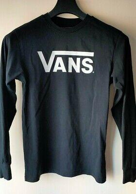 Vans Long Sleeve T-Shirt - Small - Black