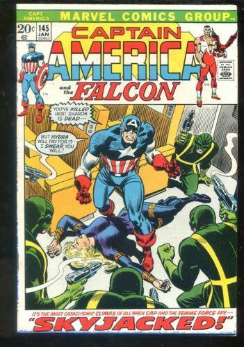 Captain America 145 Fine