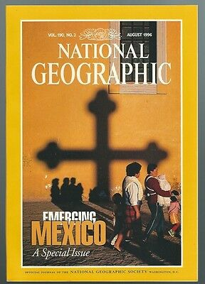 National Geographic August 1996  Vol 190 No 2  Emerging Mexico Issue Box 6