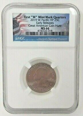 2019 W 25C WAR IN THE PACIFIC GUAM QUARTER NGC MS66 FIRST RELEASES GA COIN HUNT