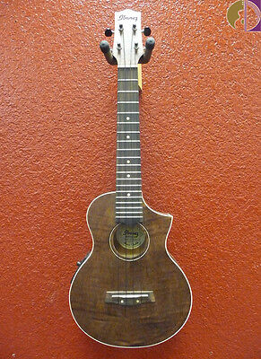 Ibanez UEW15E Concert Ukulele w/ Pickup, Flame Mahogany Body, Free Shipping USA for sale  Fort Collins