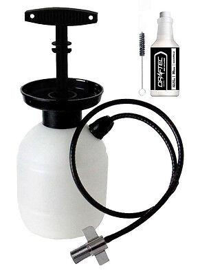 Draftec Deluxe Kegerator Cleaning Kit Pressurized Hand Pump Beer Line Cleaner