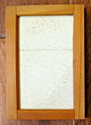 "Vtg Antique Kodak Wood Printing Frame Opening = 3""x5.25"""