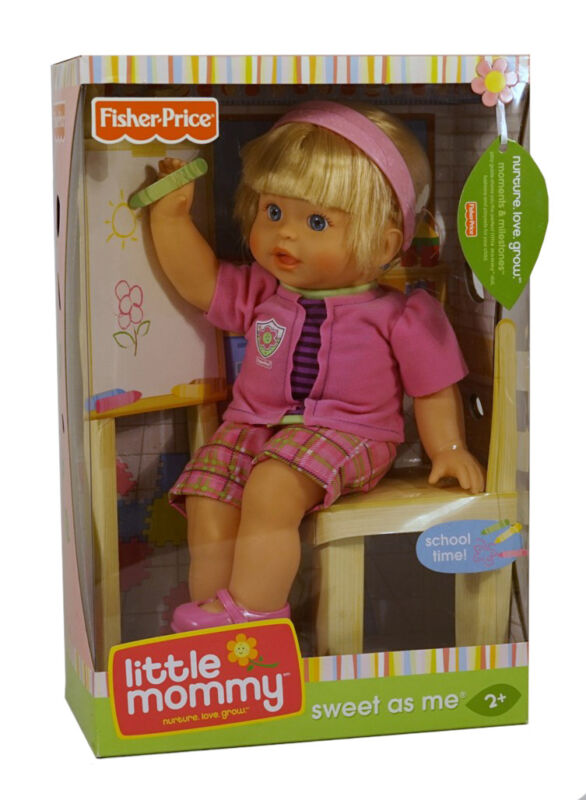 Little Mommy Rocking Puppy ~Fun Rocking Ride for Baby Doll ~ NEW IN UNOPENED BOX