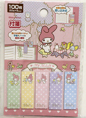 New Sanrio My Melody Sticky Notes Page Flags
