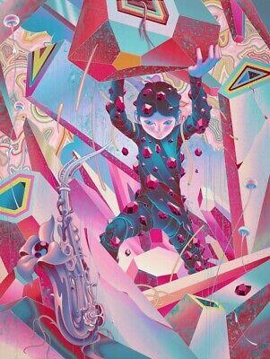 JAMES JEAN x BTS : Violane (V) Art Print, Signed