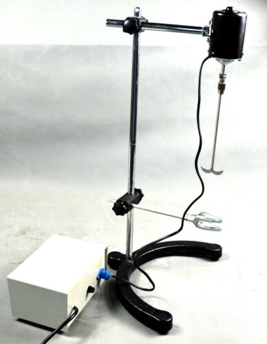 Electric Overhead Stirrer Mixer Variable Speed Electric Blender for Biochemical