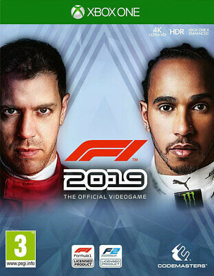 F1 2019 (Xbox One)  NEW AND SEALED - IN STOCK - QUICK DISPATCH - FREE UK POSTAGE