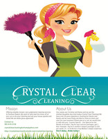 Crystal Clear Cleaning Service
