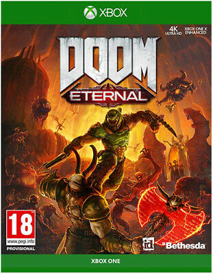 Doom Eternal (Xbox One)  BRAND NEW AND SEALED - IN STOCK - QUICK DISPATCH
