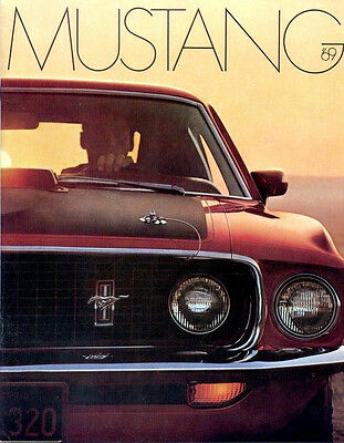 Classic Ford Mustang Sales Brochures 1969 Reproduction Vintage dealer literature