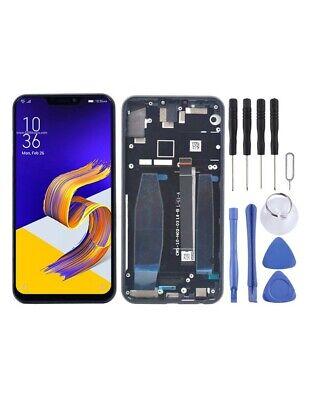 DISPLAY LCD SCHERMO TOUCH SCREEN Asus Zenfone 5 ZE620KL FRAME NERO
