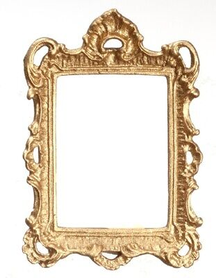 Falcon Chassis (Dollhouse Miniature Gold Plated Fancy Frame by Falcon Miniatures )