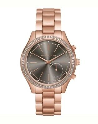 Michael Kors Access Women's Slim Runway Rose Gold Hybrid Smart Watch MKT4005