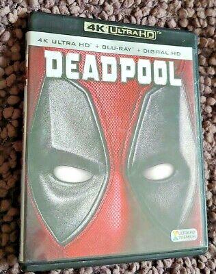 Deadpool ( 4K ULTRA HD + BLU RAY--no digital)