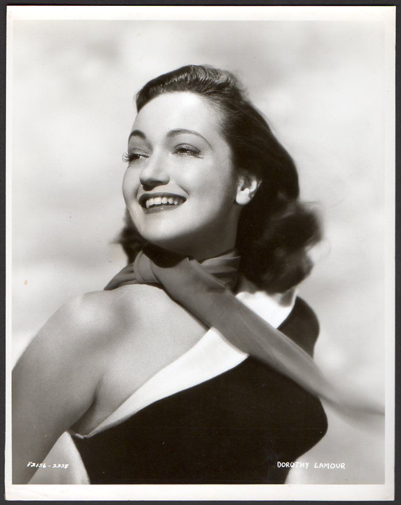 DOROTHY LAMOUR Sexy Actress 1951 VINTAGE ORIG PHOTO Portrait - $24.95