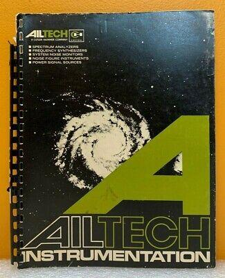 Ailtech Instrumentation Catalog.