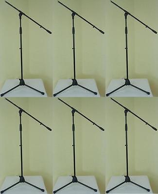 4 x ADAM HALL Mikrofonstativ Mikrofonständer mit Mikrofonklammer Mikrofonklemme