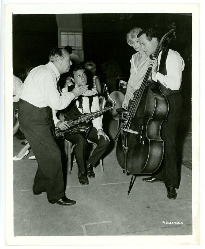 JACK LEMMON, TONY CURTIS original movie photo 1959 SOME LIKE IT HOT