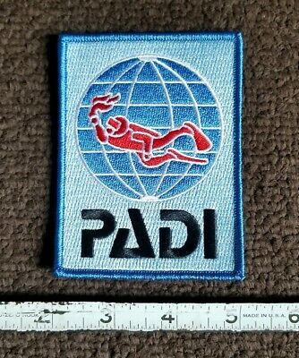 Diver Padi Divers, Scuba Diving, Diving Badge Embroidered Iron on Patch