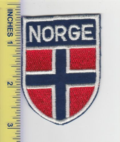 Norway Norwegian Norge Military Souvenir Travel Patch