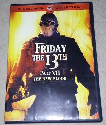 FRIDAY The 13th PART VII The NEW BLOOD(1988) *Halloween *horror