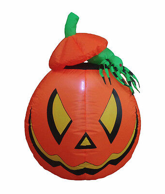 Halloween Inflatable Air Blown Blowup Decoration Pumpkin Jack-O-Lanterns Spider