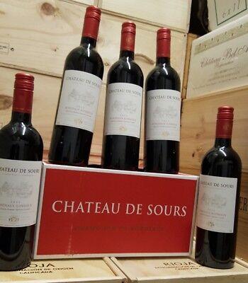 Grand Vin : 6 x 0,75l Chateau de S...... Bordeaux superieur  2015 13%