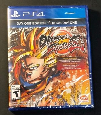 Dragon Ball Fighterz   Day One Edition    Ps4  New