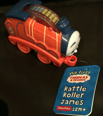 "My First Thomas & Friends RATTLE ROLLER ""JAMES"" /New"