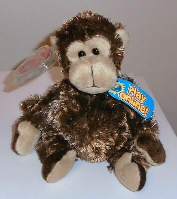 Ty Beanie Baby BB 2.0 ~ VINES the Monkey (7 Inch) MINT with MINT TAGS