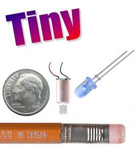 Very Small Microscopic Miniature Tiny Mini Electric Motor