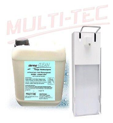 Set 10 L Handwaschpaste Handreiniger + Dosierspender Wandspender + Dosierflasche