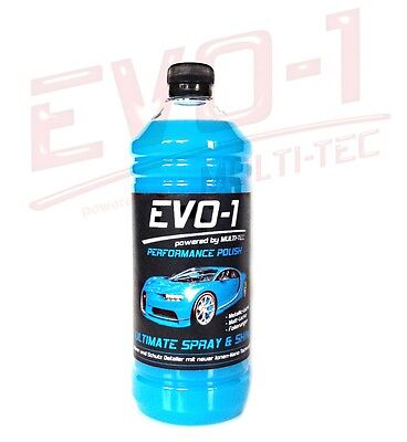 1 L EVO-1 ULTIMATE SPRAY & SHINE Nano Sprühglanz Versiegelung Finish Sprühwax