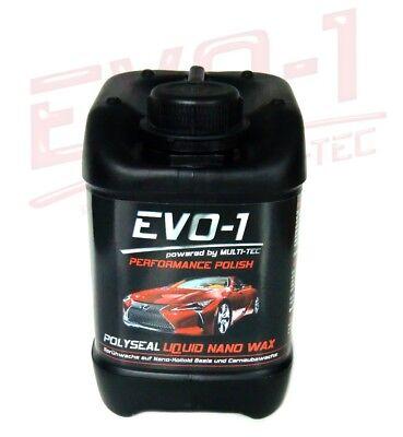 2,5 L EVO-1 POLYSEAL Liquid Nano Politur Wax Carnauba Sprühwachs Sprühglanz
