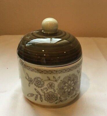 Vintage Schirnding Bavaria Porcelain Sugar Bowl