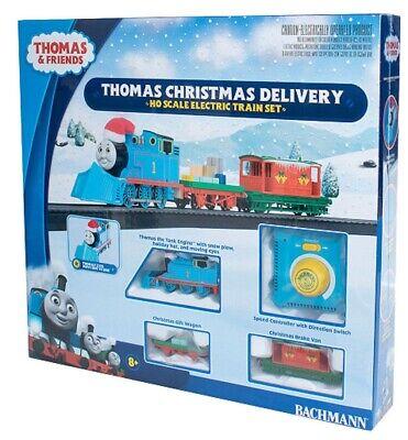 HO Scale Bachmann 755 Thomas Christmas Delivery Train Set w/Steel E-Z Track