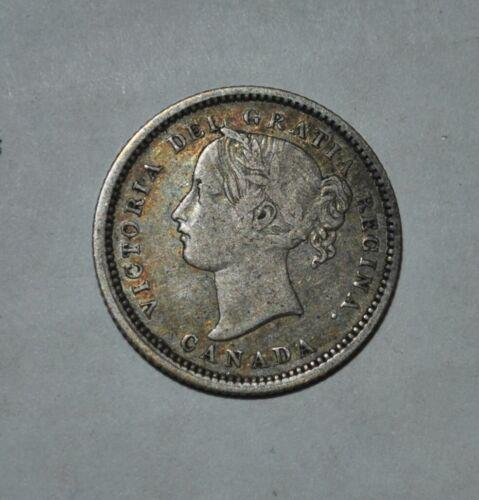 1870 Canada 10 Cents (G355e)