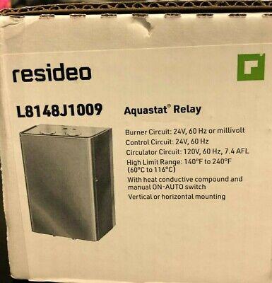Honeywell Aquastat Relay L8148j1009