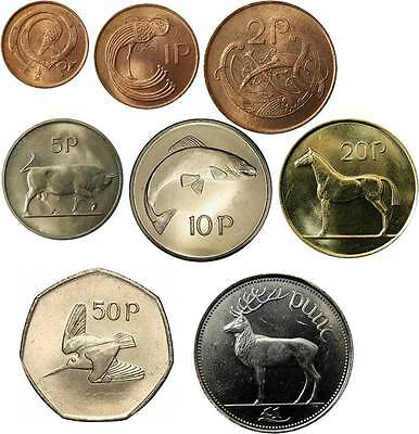 Click on the image to view a selection of Irish Decimal Coins